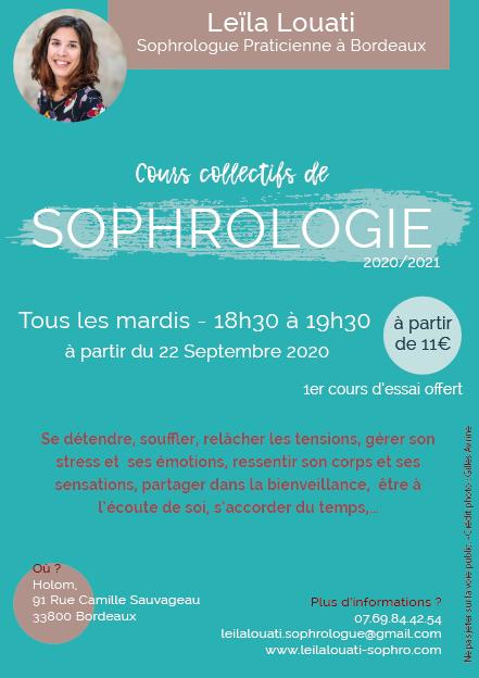 actualité cours collectif de sophrologie